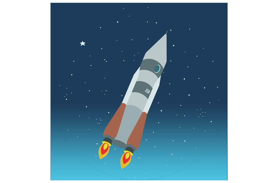 Atlas inspired rocket