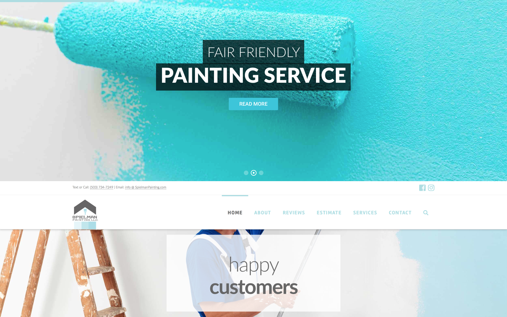 Spielman Painting website