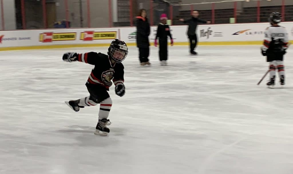 Madox Bugbee skating