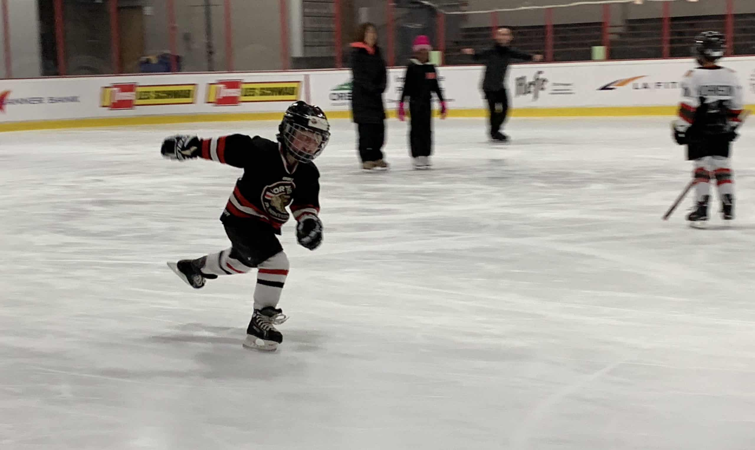 Madox skating